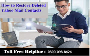 How to Restore Deleted Yahoo Mail Contacts - CUSTOMER HELP SERVICE